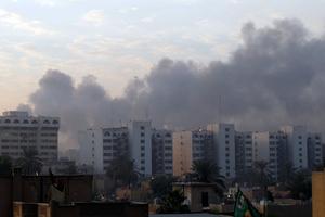 Ρουκέτες έπεσαν σε στρατιωτική βάση δίπλα στο αεροδρόμιο της Βαγδάτης
