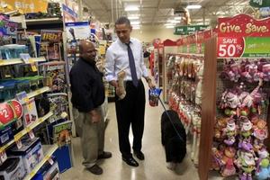 Ο Μπαράκ Ομπάμα έβγαλε τον Μπο βόλτα