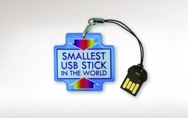 Το μικρότερο USB-Stick στον κόσμο