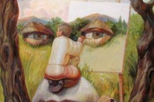 Ο καλλιτέχνης που ζωγραφίζει οπτικές ψευδαισθήσεις