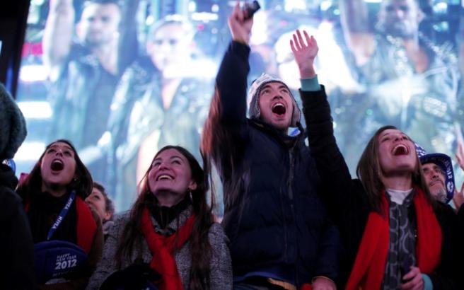 H Times Square έδωσε το ρυθμό της γιορτής
