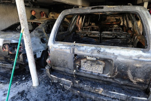 Παρανάλωμα του πυρός αυτοκίνητα στο Χόλιγουντ