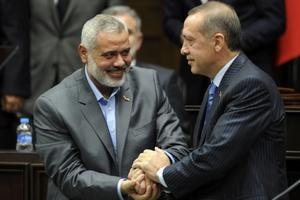 Θερμή υποδοχή για τον επικεφαλής της Χαμάς