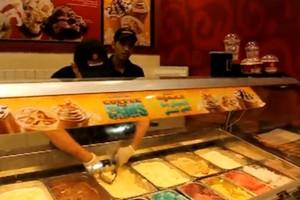 Πώς σερβίρουν παγωτό στο Ντουμπάι