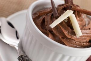 Κρέμα σοκολάτας με γεύση λεμόνι