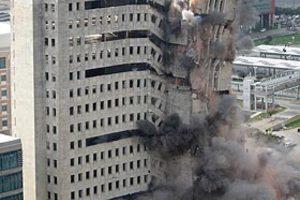 Πως ένα κτίριο ισοπεδώνεται σε πέντε δευτερόλεπτα