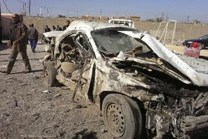 Οκτώ νεκροί, τέσσερις τραυματίες στο Ιράκ