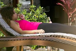 Το ύποπτο τσιγάρο της Ριάνα