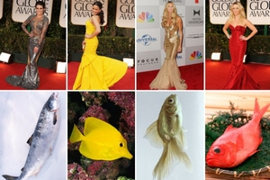 Τα φορέματα που μετέτρεψαν τις διάσημες σε… γοργόνες