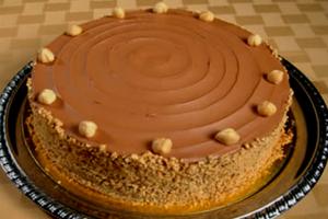 Κέικ με γεύση φουντούκι