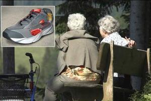 Παπούτσια με ενσωματωμένο GPS