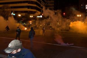 Ξύλο και συλλήψεις σε συγκέντρωση του κινήματος Occupy