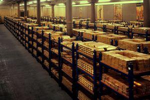 Μια ματιά στο «θησαυροφυλάκιο» της τράπεζας της Αγγλίας