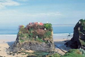 Πωλείται σπίτι στη μέση της... θάλασσας!