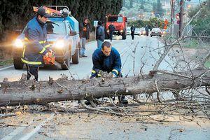 Ξεκίνησε η καταγραφή των καταστροφών στην Τρίπολη