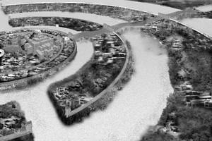 Χαμένη πόλη σε σφάλμα του Google Earth