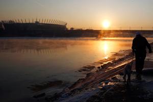 Βόλτα στον παγωμένο ποταμό