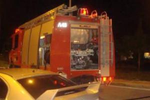 Πυρκαγιά σε υπόγειο εργοστασίου στο Μενίδι