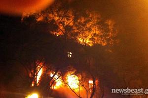 Σε εξέλιξη 26 πυρκαγιές στο κέντρο της Αθήνας