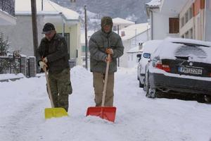 Τσουχτερό το κρύο στη Βόρεια Ελλάδα