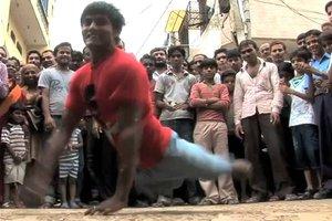 Χορευτής χωρίς... πόδια