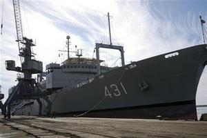 Σε άσκηση το ιρανικό πολεμικό ναυτικό