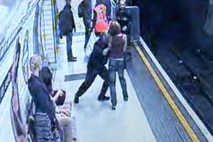 Επιτέθηκε σε γυναίκα και την έσπρωξε στις ράγες του μετρό