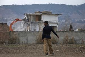 Κατεδαφίστηκε το σπίτι του Μπιν Λάντεν στο Πακιστάν