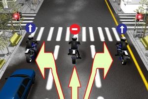 Για μια ασφαλή μετακίνηση με μοτοσικλέτα στην πόλη