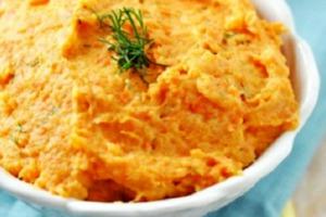Πουρές από πατάτα και καρότο