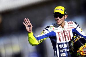 Ελεύθερος και... γρήγορος ο Valentino Rossi