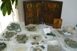 Ανυπολόγιστης αξίας τα αντικείμενα του κυκλώματος αρχαιοκαπηλίας