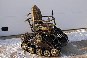 Αναπηρικό αμαξίδιο... off-road