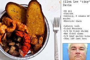 Τα τελευταία γεύματα θανατοποινιτών