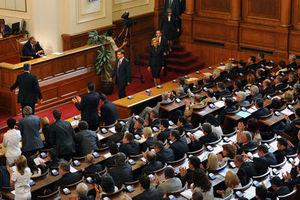 Αντισυνταγματικό το διάταγμα για την προσωρινή κυβέρνηση