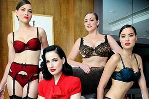 Η Dita Von Teese λανσάρει σέξι εσώρουχα – Newsbeast 0289783b868