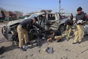 Πολύνεκρη έκρηξη στο Πακιστάν