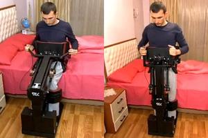 Συσκευή βοηθά τα άτομα με ειδικές ανάγκες να σταθούν στα πόδια τους