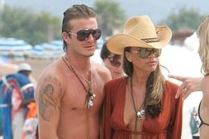 Ούτε για... διακοπές δεν έχουν χρόνο οι Beckham
