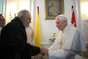 Με το Φιντέλ Κάστρο συναντήθηκε ο Πάπας Βενέδικτος