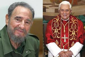 Τον Ποντίφικα επιθυμεί να συναντήσει ο Φιντέλ Κάστρο