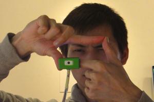 Τραβήξτε φωτογραφίες με τα δάχτυλα σας!