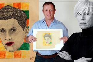 Επιχειρηματίας είχε αγοράσει σκίτσο του Warhol για 5 δολάρια