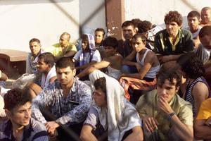 Πορεία για τα κέντρα μεταναστών στη Θεσσαλονίκη