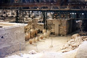 Ανοίγει ο αρχαιολογικός χώρος του Ακρωτηρίου Σαντορίνης