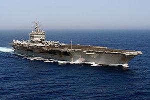 Το USS Enterprise στο Κόλπο