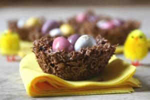 Σοκολατένιες αυγοφωλιές