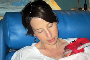 Ρίσκαρε τη ζωή της για το αγέννητο παιδί της