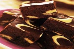 Μπράουνις με τυρί κρέμα και σοκολατα