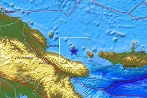 Σεισμός 7 Ρίχτερ στην Παπούα-Νέα Γουινέα